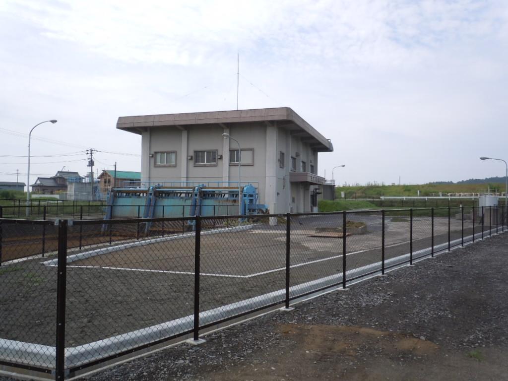 H23浜市排水機場外機場付帯工災害復旧工事