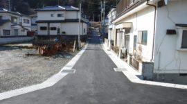 梨木畑4号線ほか2路線舗装復旧工事 H28.12.19~H29.3.30