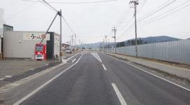 渡波稲井線道路整備(その2)工事