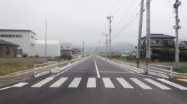 渡波稲井線道路整備(その3)工事
