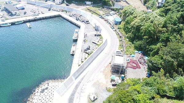 折ノ浜漁港海岸保全施設災害復旧ほか整備